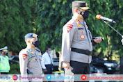 Kapolda Sulsel Pimpin Langsung Apel Gelar Pasukan Ops Kepolisian Mandiri Kewilayahan Keselamatan 2021