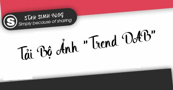 """Tải về bộ ảnh nền hoạt hình """"Trend DAB"""" cho smartphone"""