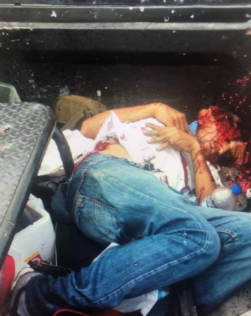 FOTOS: Así quedaron sicarios del CDN tras enfrentamiento con Militares en Nuevo Laredo 6