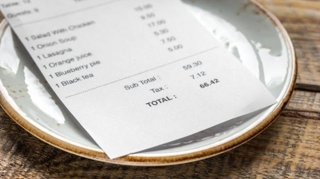 Bon Pembayaran Es Teh Manis Ini Penuh Kejanggalan