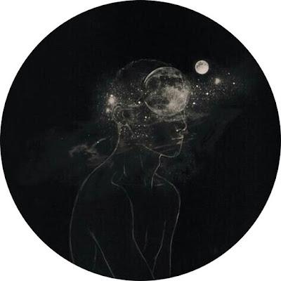 افتار رسومات شخص والقمر والنجوم افضل افتار على مواقع التواصل