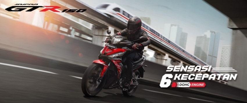 Promo Kredit Harga HONDA SUPRA GTR 150 SPORTY Dealer Honda Sejahtera Mulia Cirebon