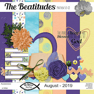 We Believe Blog Train - August 2019 - The Beatitudes