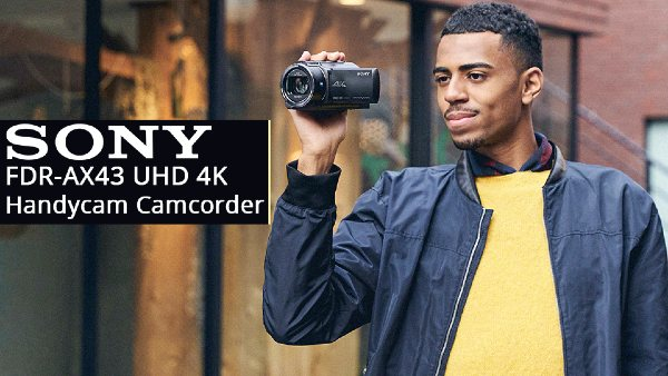 Sony Handycam 4K AX43, review: Create without limits