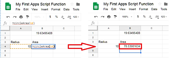 Custom Function With Cell Reference