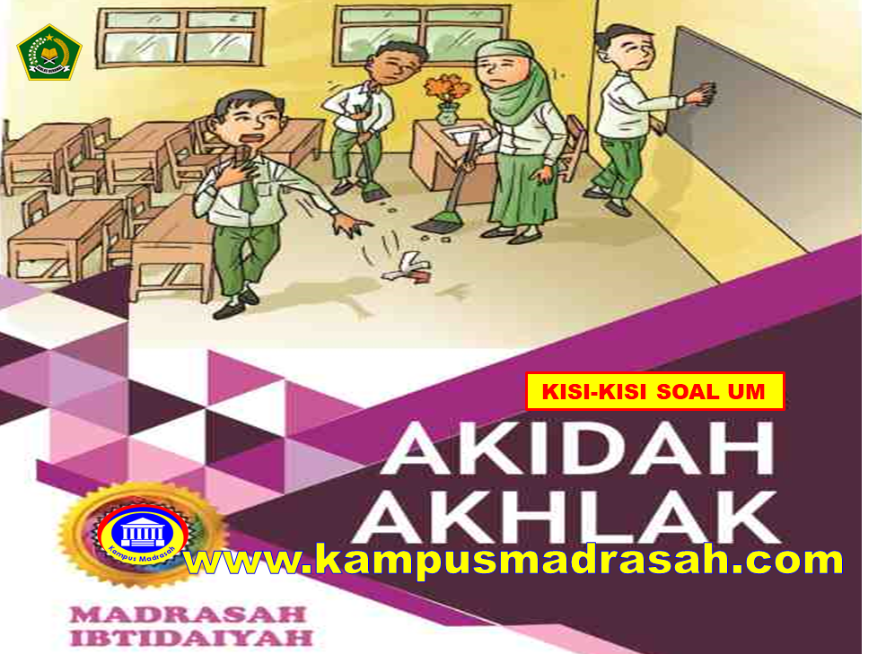 Kisi-kisi UM Akidah Akhlak Tingkat MTs