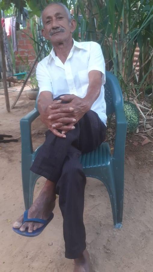 MORRE o aposentado Antônio Eugênio, morador do Santa Clara, em Elesbão Veloso, aos 70 anos.