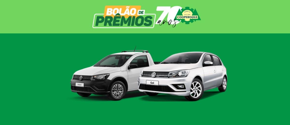 Promoção Cooperoque 2021 Bolão de Prêmios