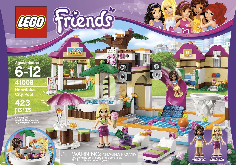 My Lego Style: LEGO Friends Heartlake City Pool 41008
