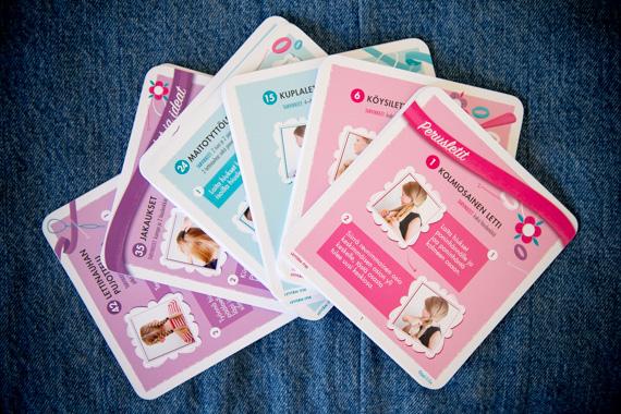 Jenni Petänen: Letitän itse -puuhakortit