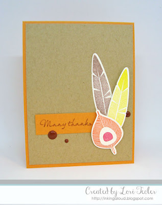 Many Thanks card-designed by Lori Tecler/Inking Aloud-stamps and dies from Waltzingmouse Stamps