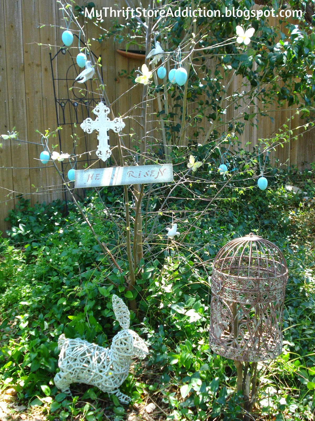 Garden Resurrection tree
