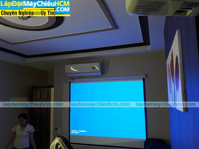 Lắp đặt máy chiếu Epson cho phòng họp nhỏ tại TpHCM