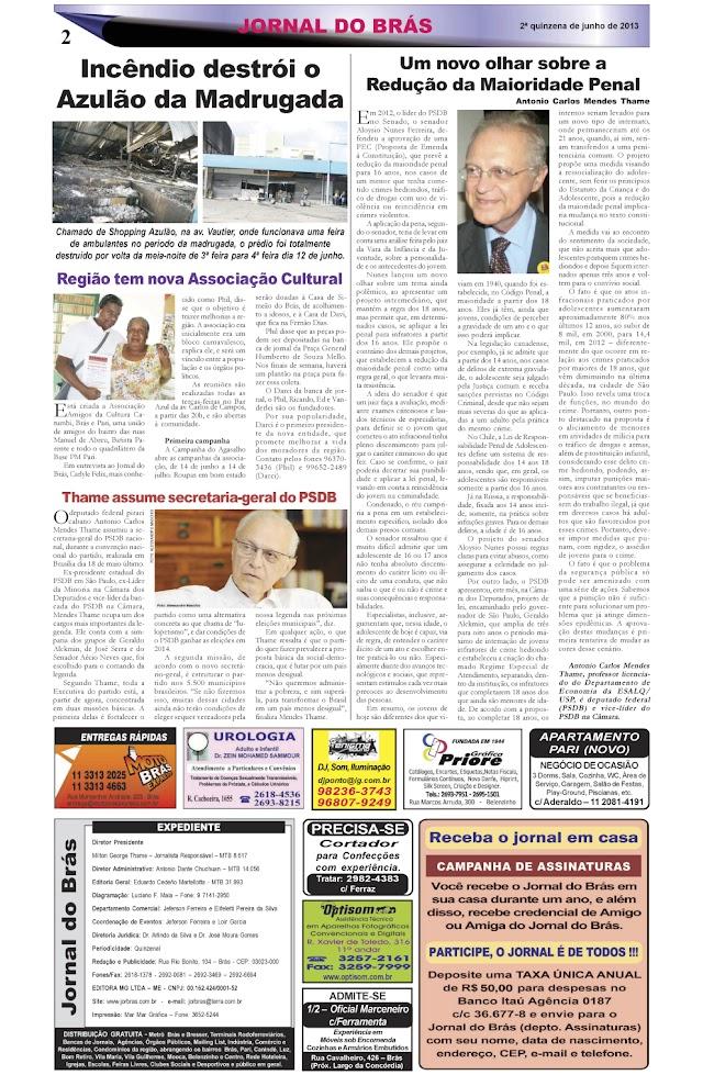 Destaques da Ed. 231 - Jornal do Brás
