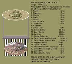 Rex Choco Pelopor Minuman Sehat Nikmat Dan Segar Bisnis Minuman Coklat