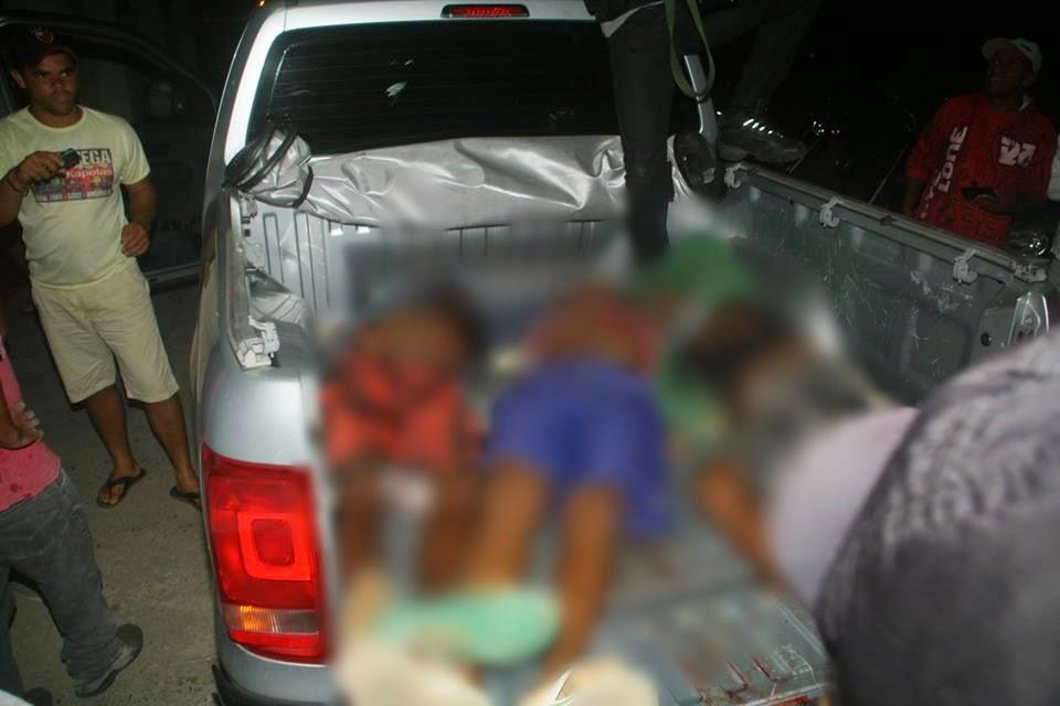 Bandidos que mataram mulher são mortos em troca de tiros com a polícia