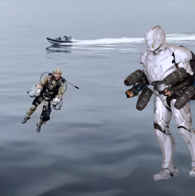 Gravity Jet Suits, Royal Marines and Adam Savage Ironman Mark Two Jet Suit