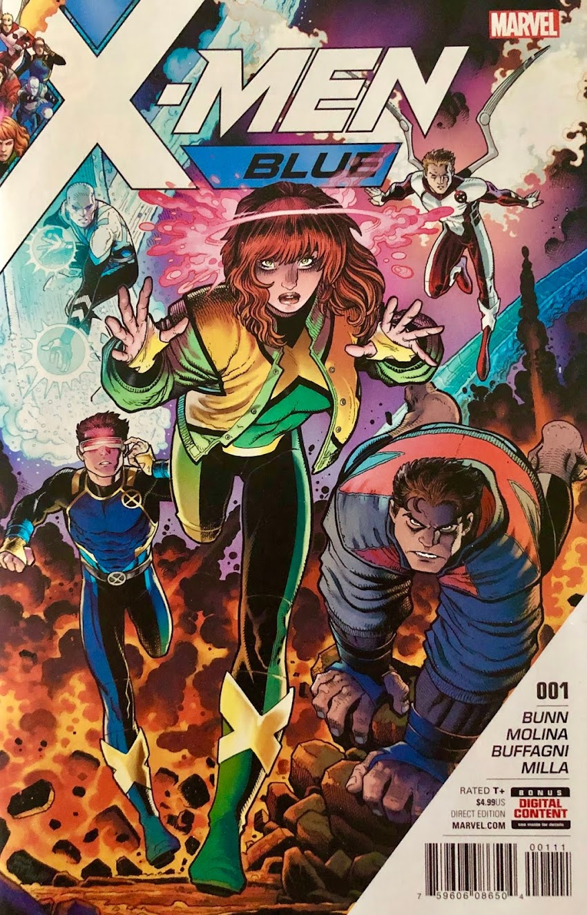 Capsule Catch-Up - X-Men: Blue #1 (2017)