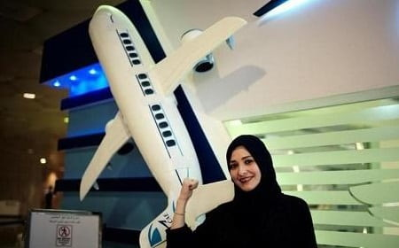 SAUDI WOMEN TO WORK AS FLIGHT ATTENDANTS