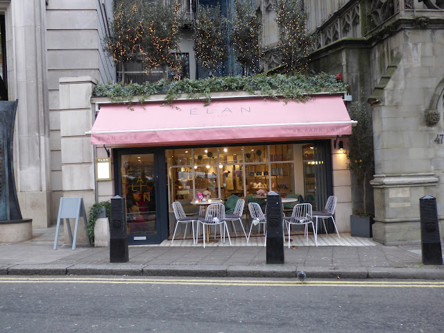 Elan Cafe, Park Lane, London