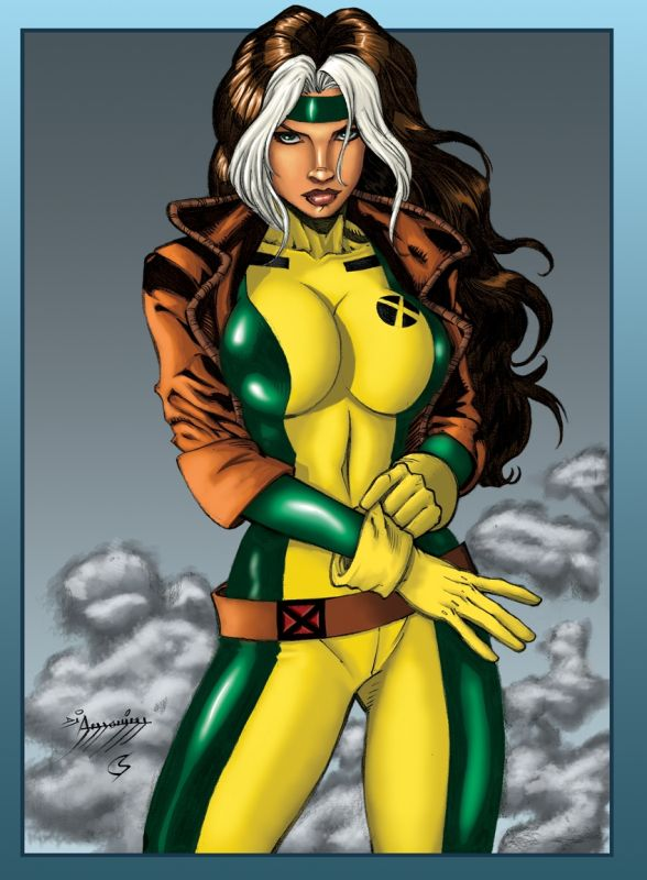 sexy naked new xmen rogue