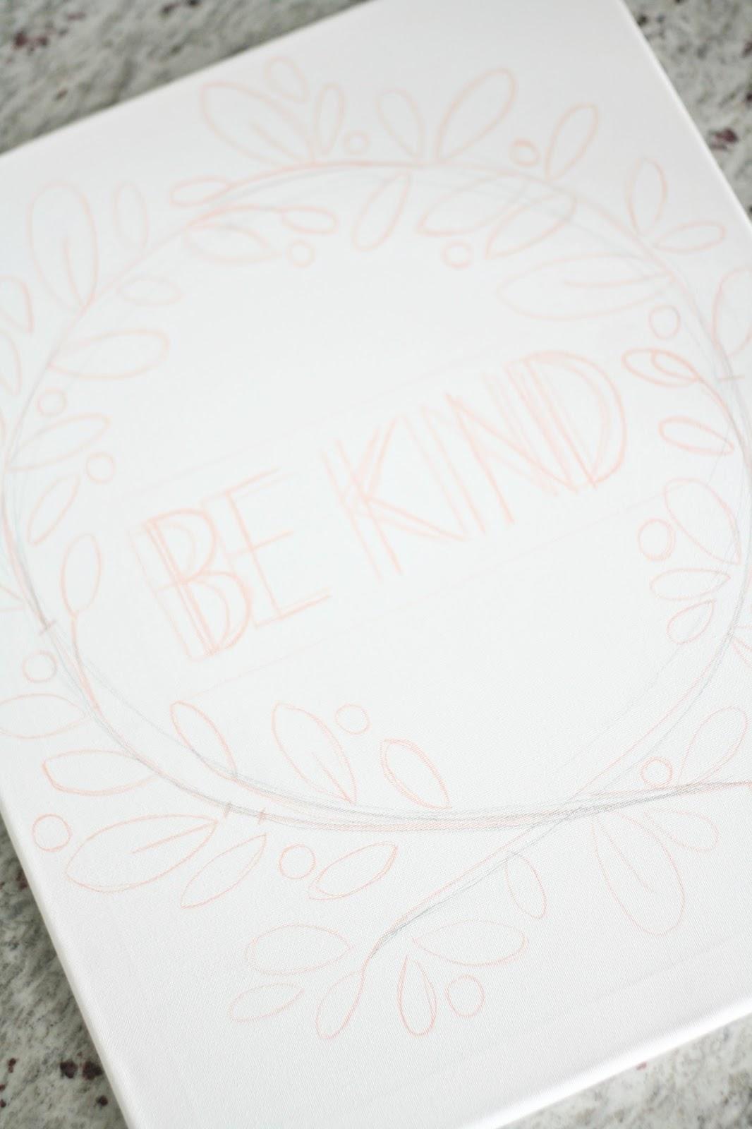 DIY Canvas and Glue Art - The Pretty Life Girls