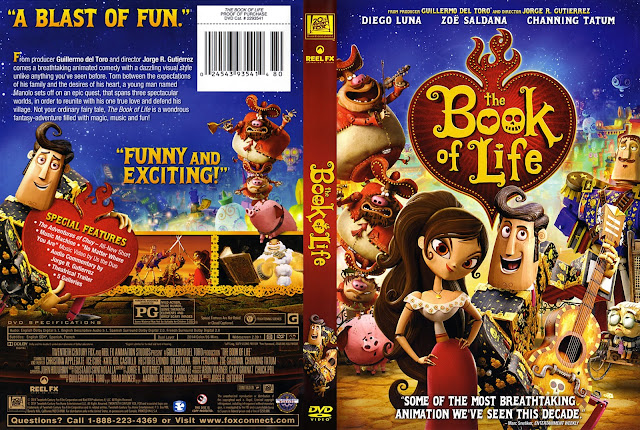 The Book Of Life (scan) DVD Cover