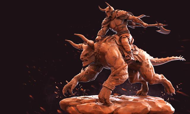 http://www.mridularts.com/beast-n-soldier
