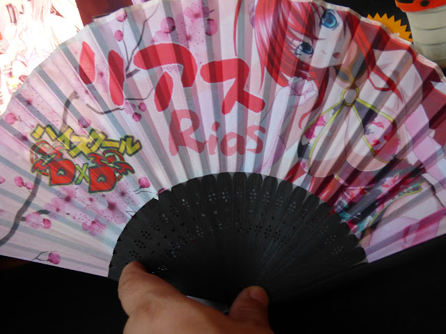 High School DxD - Rias Hand Fan