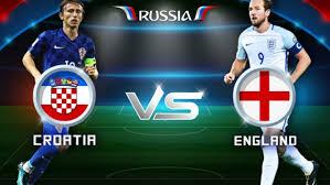 مباراة إنجلترا ضد كرواتيا في نصف نهائي كأس العالم 2018 والقنوات الناقلة