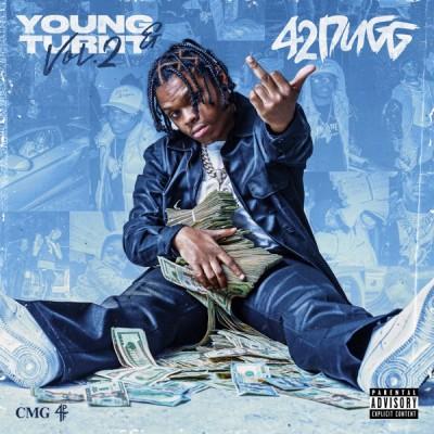 42 Dugg - Young & Turnt, Vol. 2 (2020) - Album Download, Itunes Cover, Official Cover, Album CD Cover Art, Tracklist, 320KBPS, Zip album