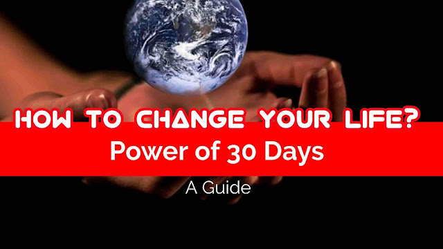 How to change your life | life guide