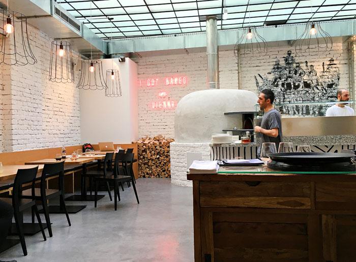 Pizzeria kitch in der Biberstraße Wien