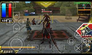 Game Sengoku Basara - Chronicle Heroes ISO PPSSPP