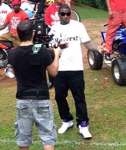 200e44259b0c Celeb Sneaker Game  Gucci Mane Wearing Air Jordan 5 Retro