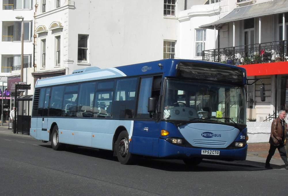 Southern England Bus Scene Metrobus Route 23 In Worthing