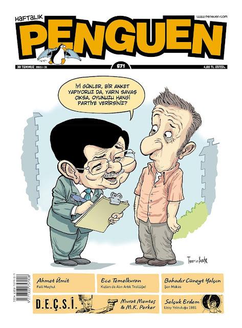 ahmet davutoğlu karikatür