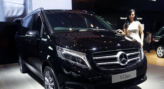 Mercedes-Benz Indonesia Andalkan V-Class Di IIMS 2016