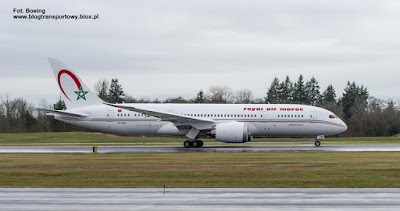 Boeing 787-8 Dreamliner, CN-RGB, Royal Air Maroc