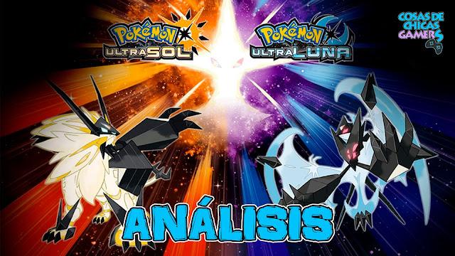 Análisis de Pokémon UltraSol y UltraLuna Necrozma Melena Crepuscular Alas del Alba Solgaleo Lunala