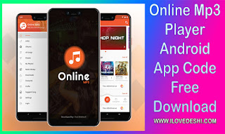 ILoveDeshi | Online Mp3 Player Android App Code