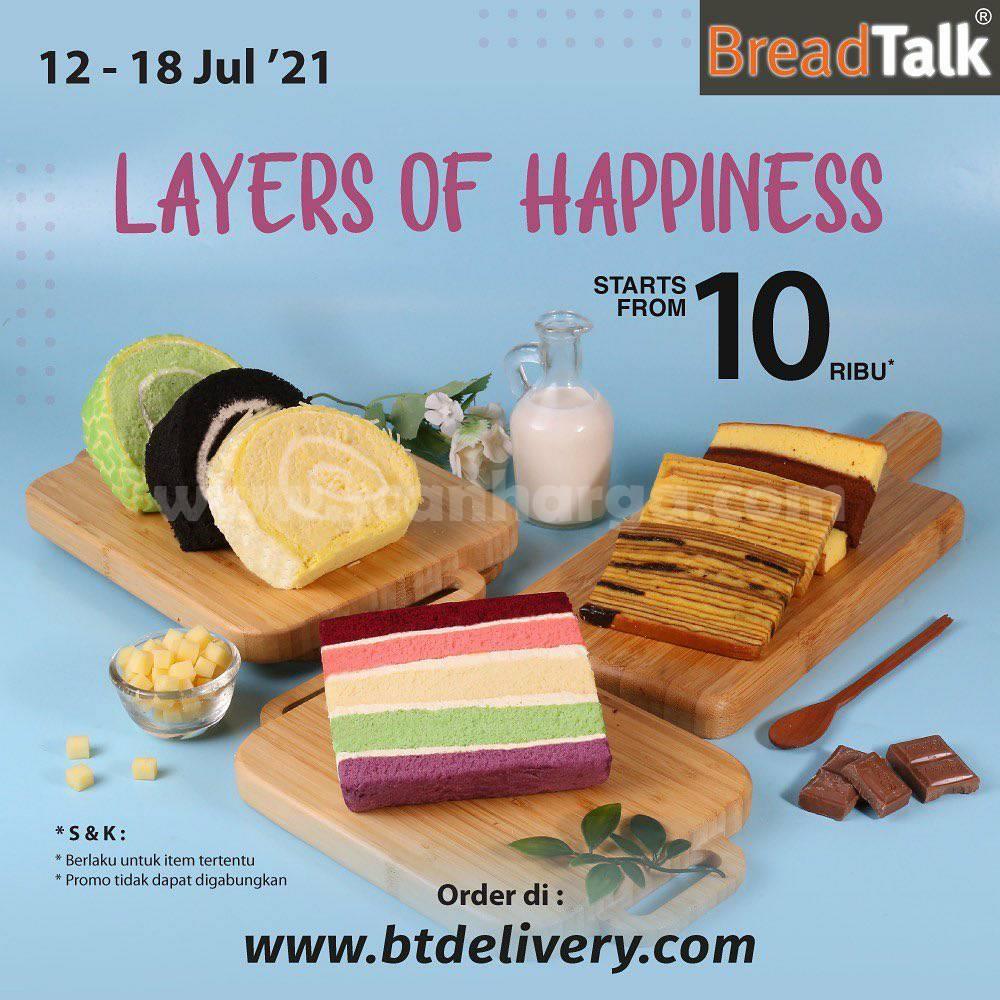 Promo Breadtalk Layers Of Happiness - harga mulai Rp. 10.000