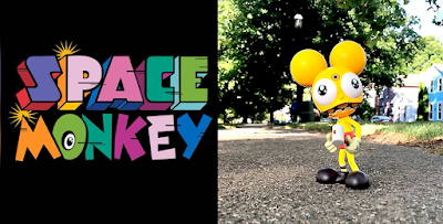Space Monkey Yellow Edition Vinyl Figure by Dalek x UVD Toys