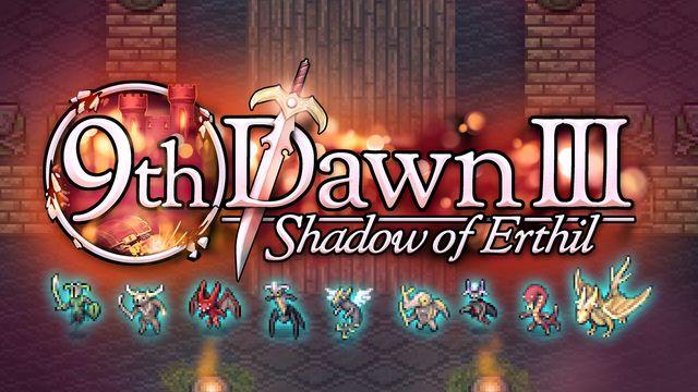 9th Dawn III Shadow Of Erthil v1.04 NSP XCI NSZ For Nintendo Switch