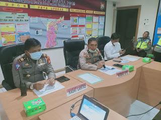 Polres Pelabuhan Makassar Gelar Latihan Pra Operasi Keselamatan 2020