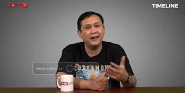 Denny Siregar Mulai Meracau, Tuding Para Perusuh Demo Omnibus Law Dibayar 100 Ribu perorang