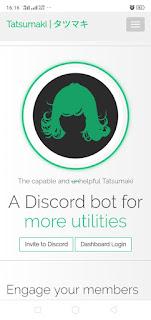 Cara Menambahkan Tatsumaki ke Server Discord