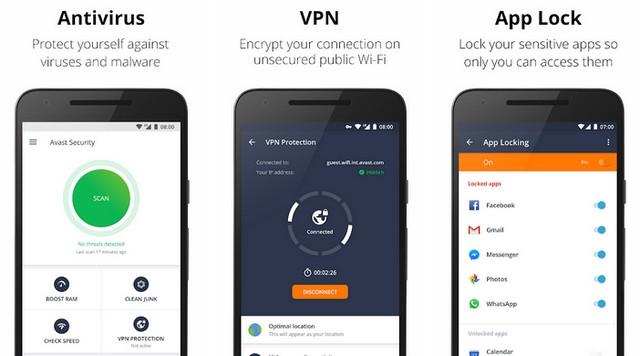 Avast-Antivirus - أفضل برنامج حماية للأندرويد