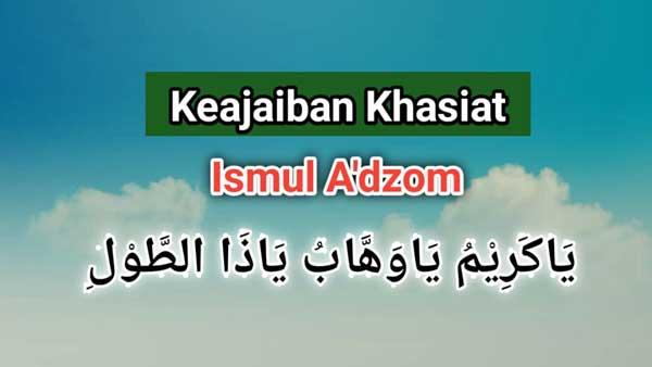 Keajaiban Khasiat Asmaul Husna Ya Karim