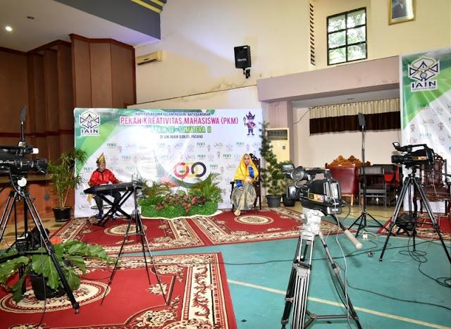 PKM Ke-II PTKIN Se-Sumatera Resmi Dibuka, Kontingen IAIN Batusangkar Tampil Memukau